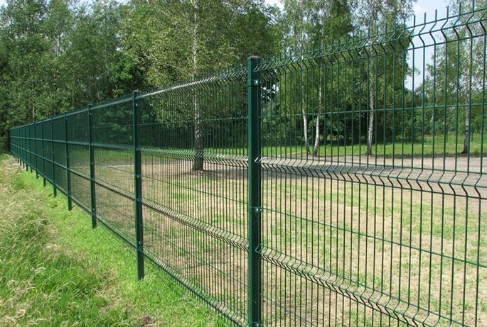The Fence Panel Can Be Fixed On Square Post Round Post Or